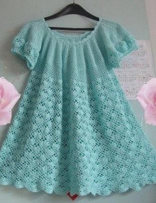 Видео узоров для детских платьев