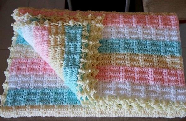 Пряжи для вязания пледов крючком 470