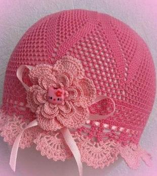 Вязание детской шляпки