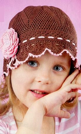 Связать шапочку для девочки