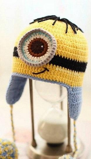 Веселая детская шапочка