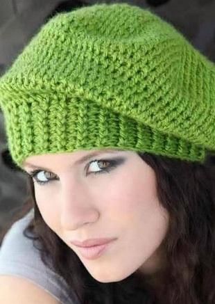 Esquema boina crochet