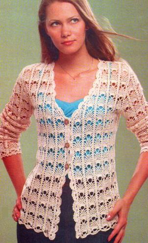вязание крючком. написала. жакет. изменено 18 марта 2012 года,в 08:39. схема для вязания.  Yaromila Volkova.