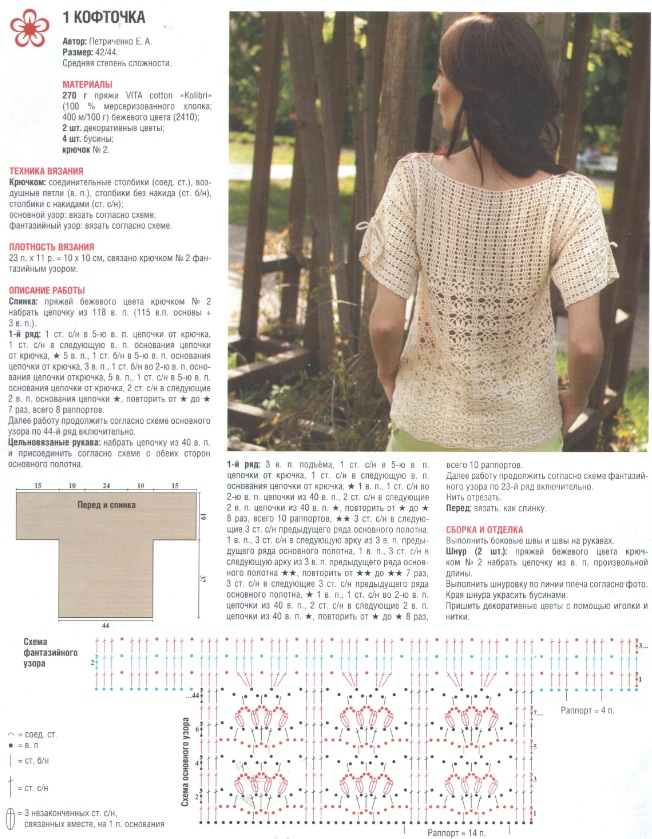 Журнал вязание крючком кофты 248