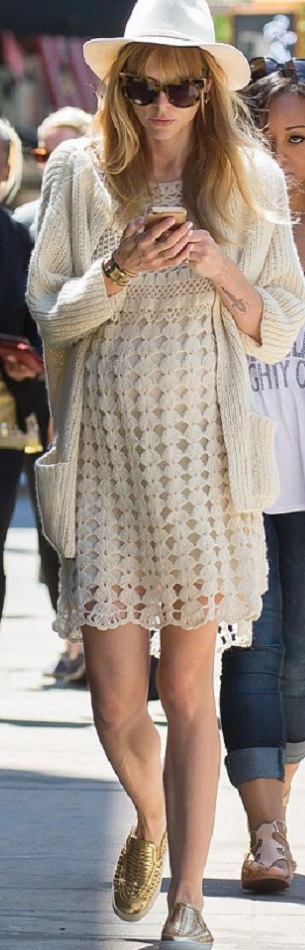 Красивые узоры для вязания платья крючком
