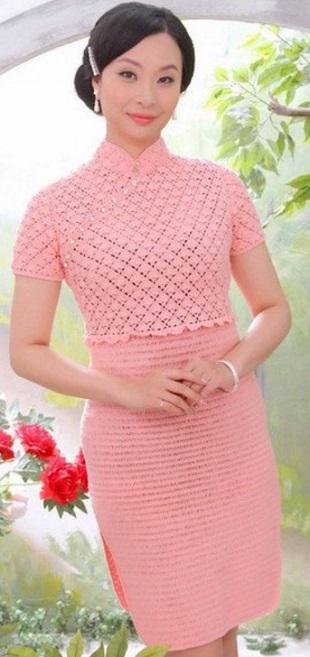 Платье Прелестное платье гепардового