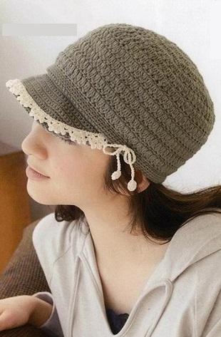 Вязание кепки крючком
