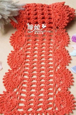 Вязание - Шарфы ж. Вязание - Для женщин. Вязание - Шарфы, снуды, пелерины ж. Вязаный шарф крючком