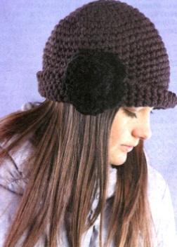 sombrero de punto