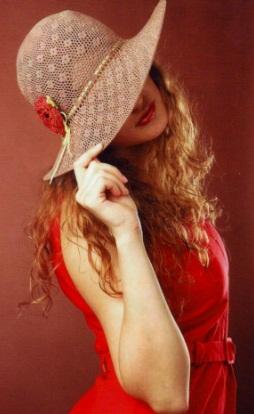 Шляпа крючком
