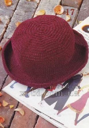 Винная шляпа крючком