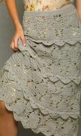 Дневники вязания юбка