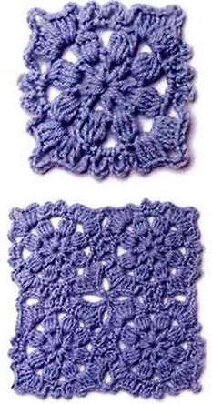 Вязание крючком - узор