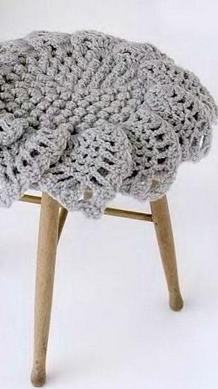 Вязание круглого коврика