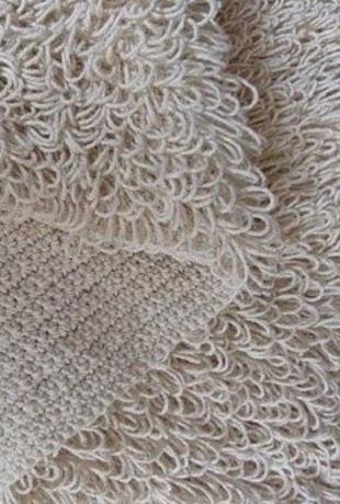 Вязание ковра крючком