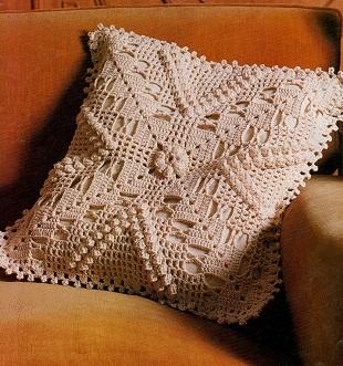 Схема чехла для подушки