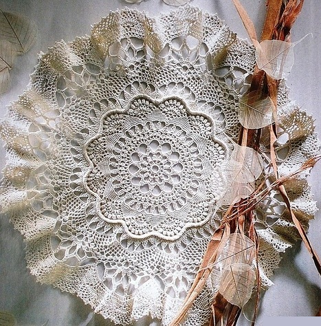 Вязание салфетки крючком