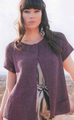 """На нашем женском сайте  """"Дамочка """" Вы в любое время можете найти публикацию - схемы вязания спицами жакета..."""