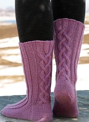 Носки связаны на чулочных спицах 3.5.Носки. спицами схема. вязание спицами. написала. носки.  27 октября 2011 года,11...