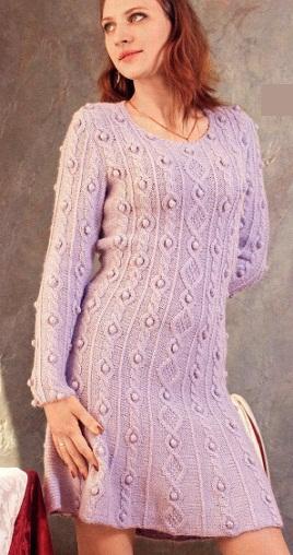 Платье на осень 2012