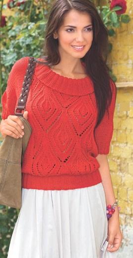 Как связать пуловер спицами