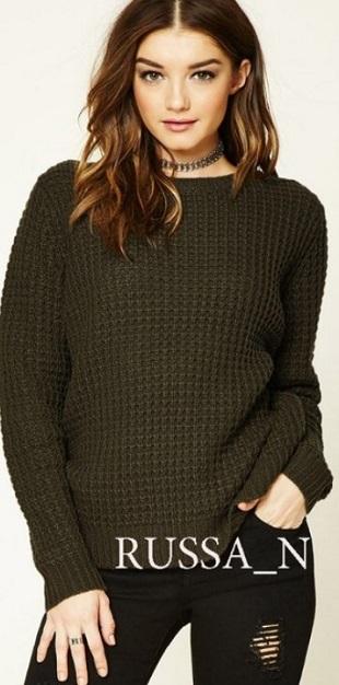 Схема узора для пуловера