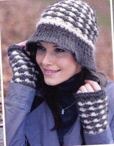 Схема вязания шляп