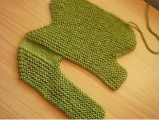 Комментарий: Схемы вязания на спицах тапочки.