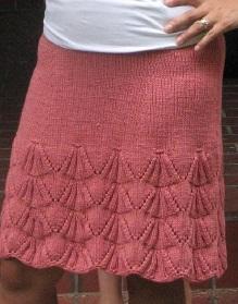 Вязание юбок на круговых спицах