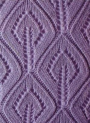 Схемы ажурных узоров с листьями.  Эти узоры отлично смотрятся при вязании шарфов и жакетов.  Yaromila Volkova. ажур.