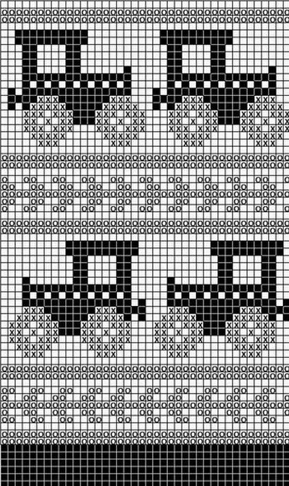 方格花图解(154) - 柳芯飘雪 - 柳芯飘雪的博客
