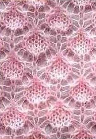 Схемы вязания мужского шарфа спицами с описанием 958