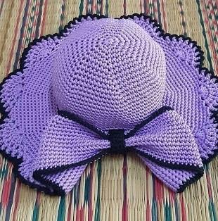 Шляпа крючком 2021